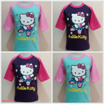Kaos Anak Woozles Hello Kitty