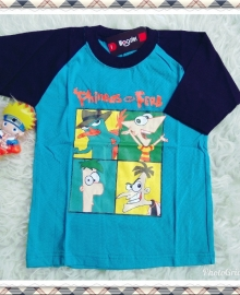 Kaos Anak Woozles Phineas and Ferb