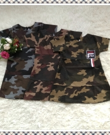 Dress Army Anak Fila
