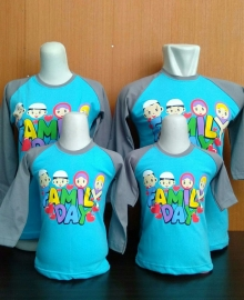 Kaos Anak Muslim Kiddos Family Day