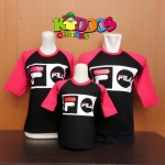 Kaos Couple Kiddos Fila