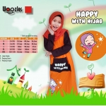 Gamis Anak Muslim Woozles happy With Hijab