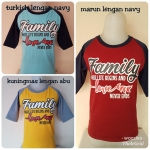 Kaos Anak Muslim Woozles Family Love Never End